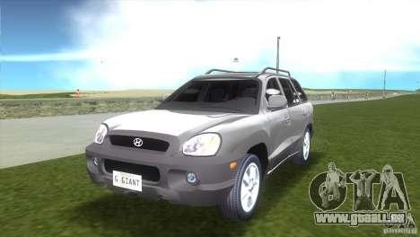 Hyundai Sante Fe pour GTA Vice City
