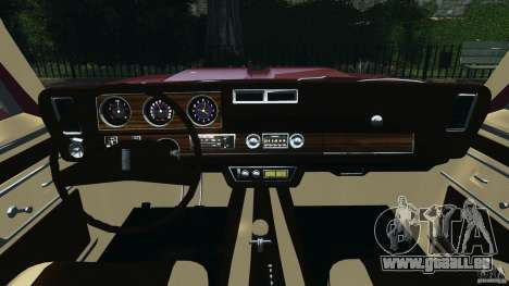 Oldsmobile Vista Cruiser 1972 v1.0 für GTA 4 Rückansicht