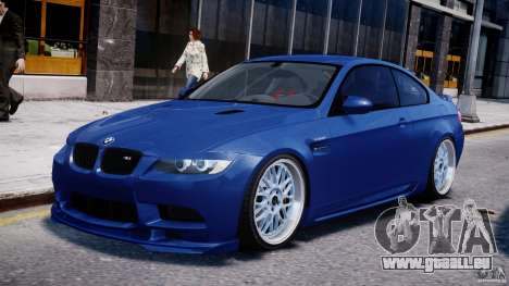 BMW M3 Hamann E92 pour GTA 4 est une gauche