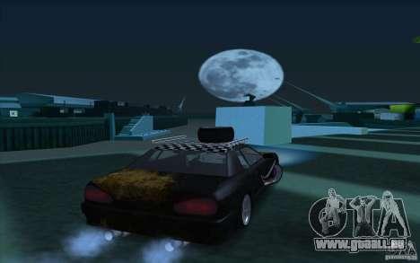 Elegy Rat by Kalpak v1 pour GTA San Andreas sur la vue arrière gauche