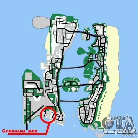 Gymkhana mod für GTA Vice City Screenshot her