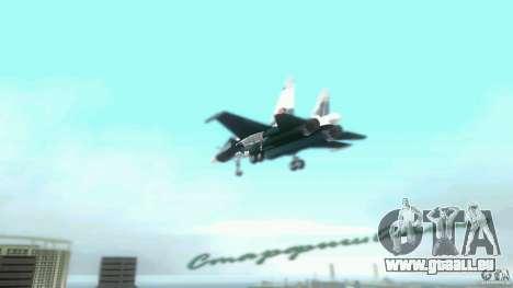 Vice City Air Force pour GTA Vice City vue arrière
