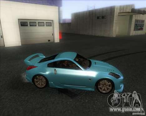 Nissan 350Z 2004 pour GTA San Andreas laissé vue