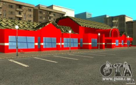 Coca Cola Market für GTA San Andreas her Screenshot