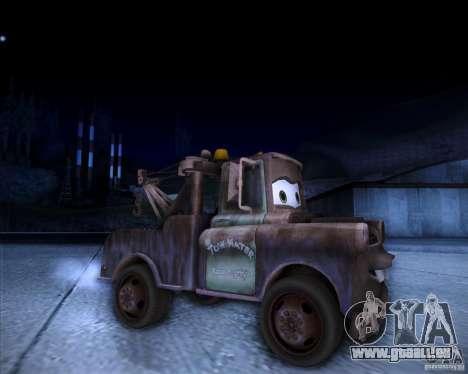 Car Mater für GTA San Andreas rechten Ansicht