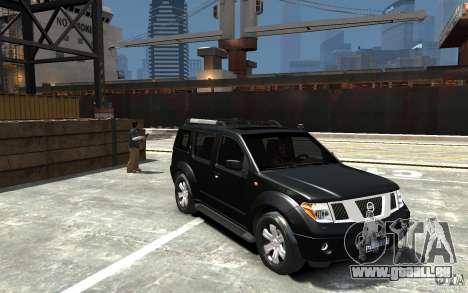 Nissan Pathfinder 2006 für GTA 4 Rückansicht