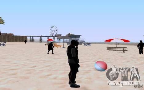 Reality Beach v2 pour GTA San Andreas cinquième écran