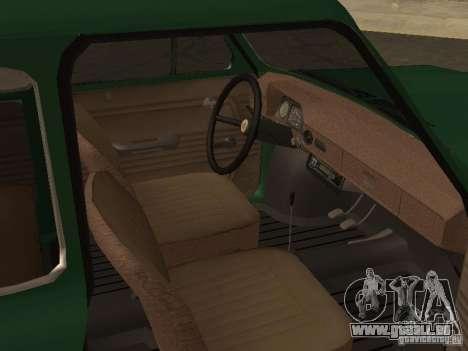 ZAZ 968 Drain für GTA San Andreas rechten Ansicht