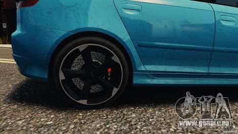 Audi RS3 Sportback V1.0 für GTA 4 Rückansicht
