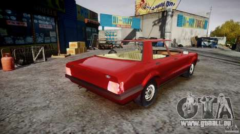 Ford Taunus für GTA 4 Innenansicht