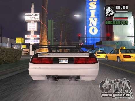 Infernus - beta - v.1 für GTA San Andreas rechten Ansicht