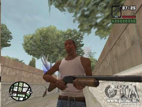 Mafia II Full Weapons Pack für GTA San Andreas sechsten Screenshot