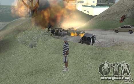 Vague de feu pour GTA San Andreas quatrième écran
