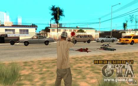 Headshot pour GTA San Andreas