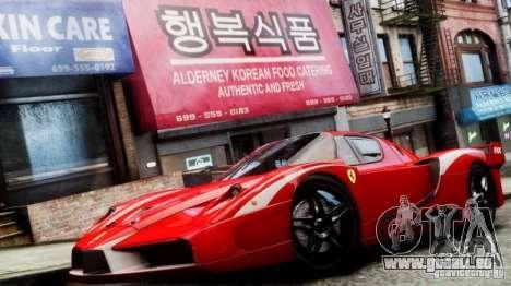 Ferrari FXX Evoluzione pour GTA 4 Vue arrière de la gauche