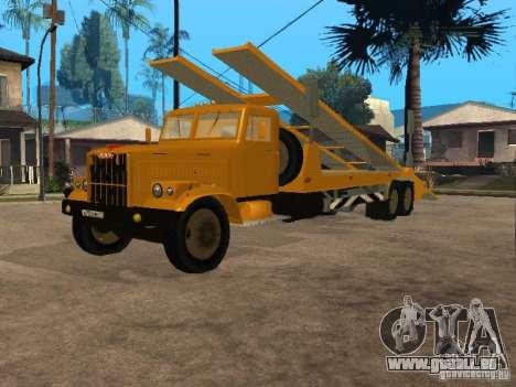 Transporteur auto KrAZ 255 pour GTA San Andreas
