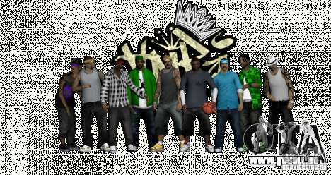 Skins Pack By AnRi für GTA San Andreas