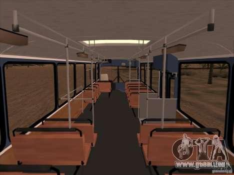 MAN SL200 Exclusive v.1.00 für GTA San Andreas obere Ansicht