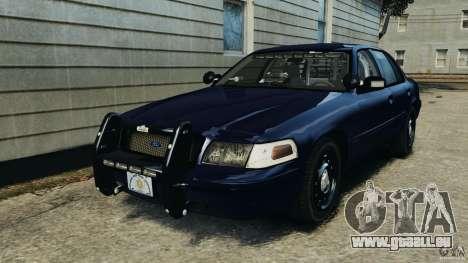 Ford Crown Victoria Police Unit [ELS] pour GTA 4