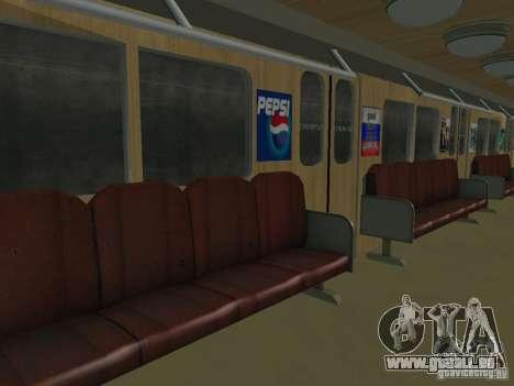 Metro e für GTA San Andreas Innenansicht