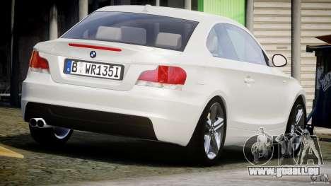 BMW 135i Coupe 2009 [Final] pour GTA 4 est un côté