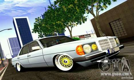 Mercedes Benz W123 pour GTA San Andreas