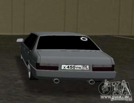 VAZ 21099 für GTA Vice City zurück linke Ansicht