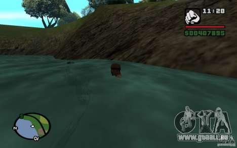 Flux et reflux pour GTA San Andreas troisième écran