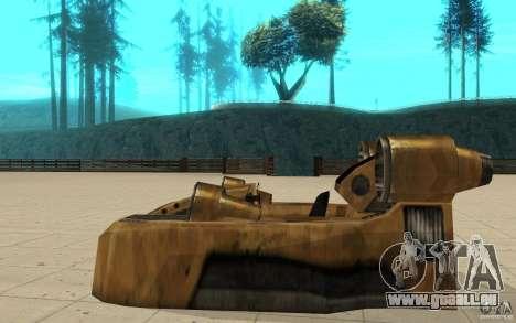 Der Strudel das Spiel Command and Conquer Renega für GTA San Andreas linke Ansicht