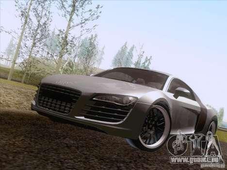 Audi R8 Hamann für GTA San Andreas Rückansicht