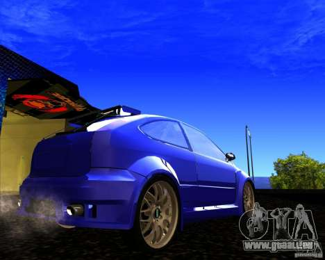 Ford Focus ST pour GTA San Andreas laissé vue