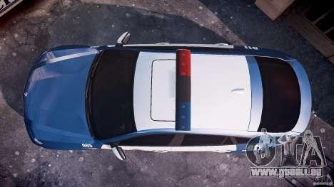 BMW X6M Police pour GTA 4 est un droit