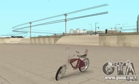 Lowrider Bicycle Custom Version pour GTA San Andreas