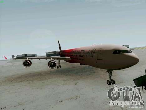 Airbus A-340-600 Formula 1 für GTA San Andreas
