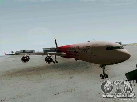 Airbus A-340-600 Formula 1 pour GTA San Andreas