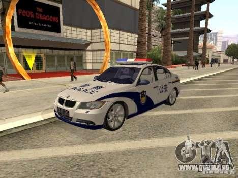 BMW 3 Series China Police für GTA San Andreas