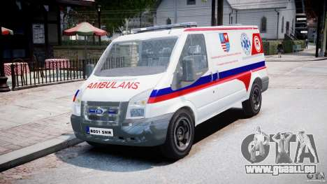 Ford Transit Polish Ambulance [ELS] pour GTA 4