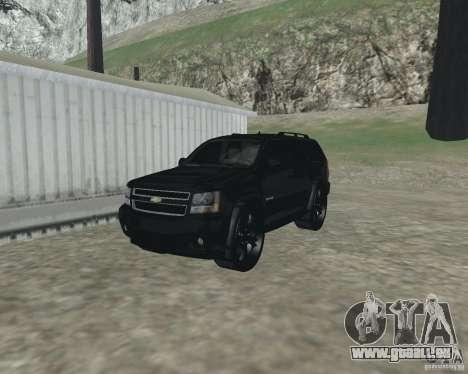 Chevrolet Tahoe BLACK EDITION für GTA San Andreas