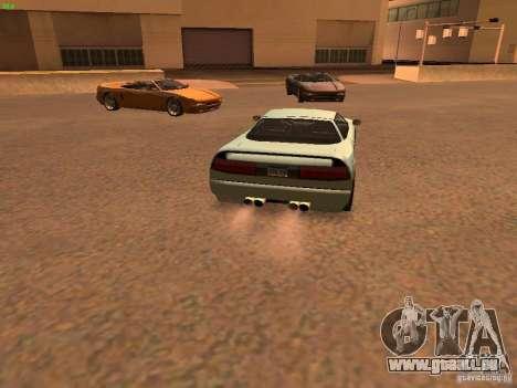 Infernus Revolution pour GTA San Andreas vue de droite