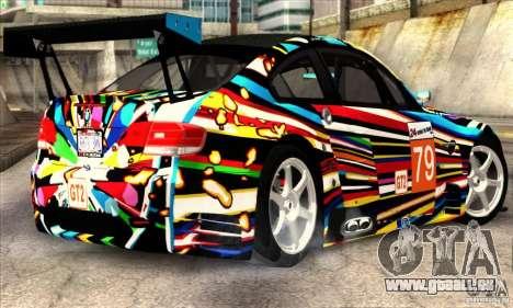 BMW M3 GT2 für GTA San Andreas zurück linke Ansicht