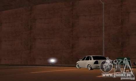 LADA priora, c. 2 pour GTA San Andreas laissé vue