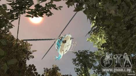 NYPD Bell 412 EP pour GTA 4 est un côté