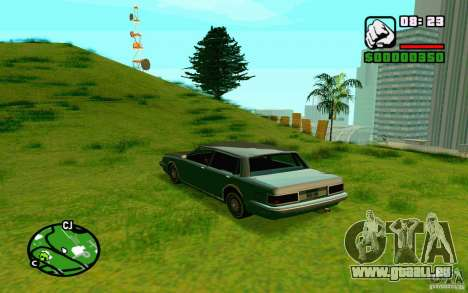 ENBSeries de Blaid pour GTA San Andreas cinquième écran