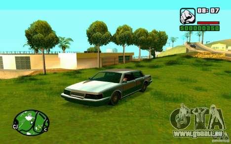 ENBSeries de Blaid pour GTA San Andreas troisième écran