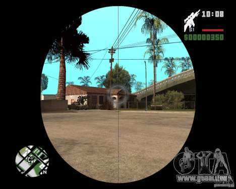 SR 25 pour GTA San Andreas troisième écran