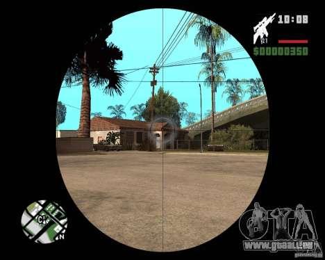 SR 25 für GTA San Andreas dritten Screenshot