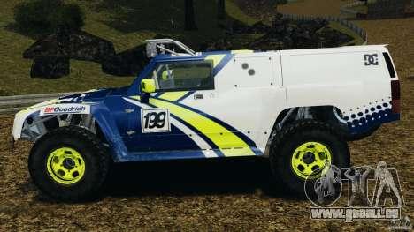 Hummer H3 raid t1 pour GTA 4 est une gauche