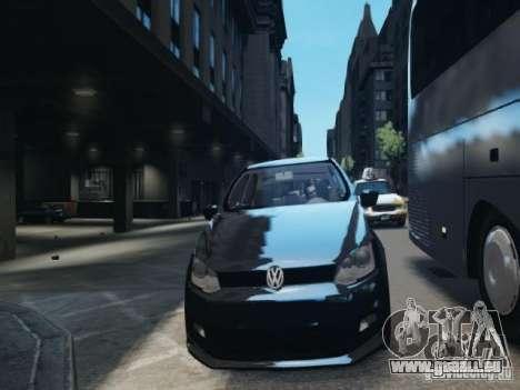 Volkswagen Gol G6 pour GTA 4 est une vue de l'intérieur