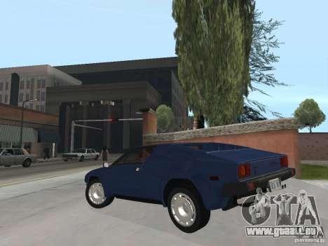 Lamborghini Jalpa P350 1984 v1.1 für GTA San Andreas linke Ansicht