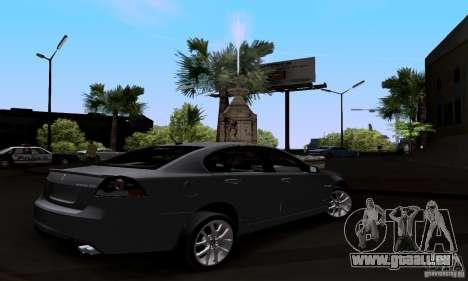 Pontiac G8 GXP pour GTA San Andreas laissé vue